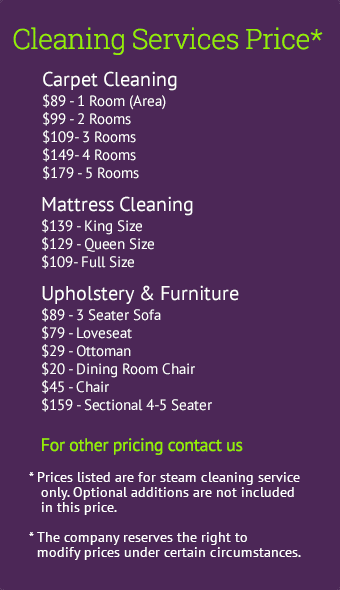How Much To Charge For Carpet Cleaning Services